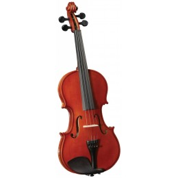 Saga Music CERVINI HV-100 Novice Violin Outfit 1/4 Скрипка в комплекте с чехлом (1/4)