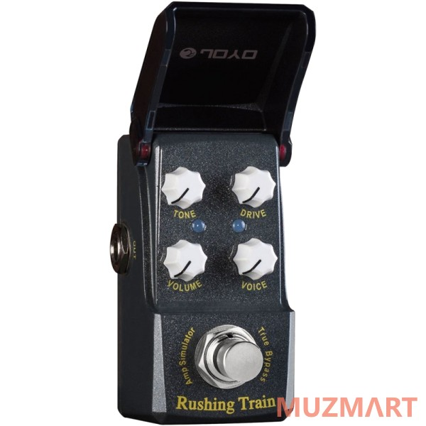 Joyo JF-306 Rushing Train VOX Amp Sim Педаль овердрайв