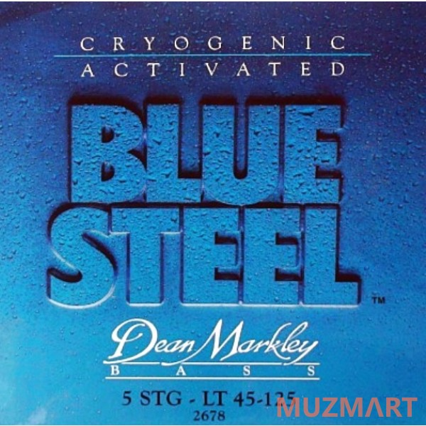 Dean MARKLEY 2678 Blue Steel Bass LT-5 Струны для бас-гитары