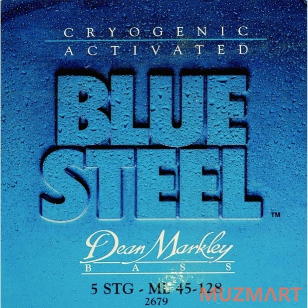 Dean MARKLEY 2679 Blue Steel Bass ML-5 Струны для бас-гитары